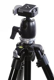 Camera Tripod Alzo All Metal Ball Head - 60 In (Black)- Heavy Duty for All Slr Cameras