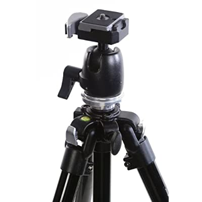 Camera Tripod - ALZO all metal Ball Head - 60 - All metal heavy duty for all SLR cameras - comparable to Bogen Manfrotto 190XB - by alzodigital.com
