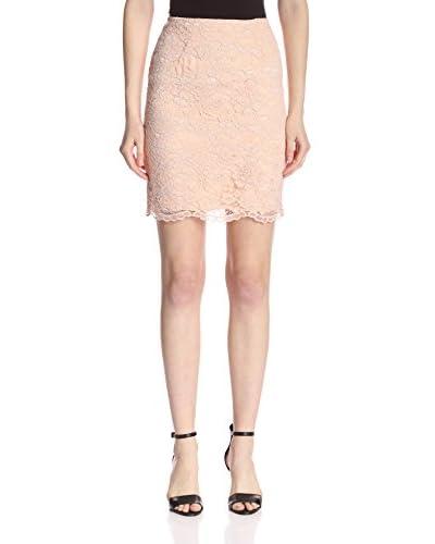 A.B.S. by Allen Schwartz Women's Guipure Skirt