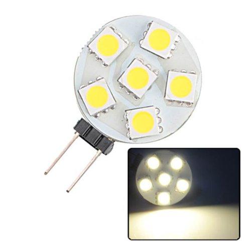 G4 5050 LED 6 SMD 1,2W 160lm Warmweiß Stiftsockel Strahler Leuchte Birnen Lampe Licht