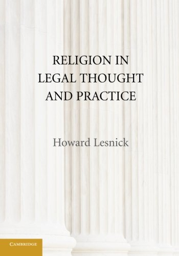 Religion in Legal Thought and Practice