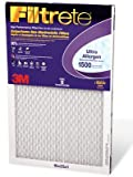 "3M Filtrete Ultra Allergen Reduction FPR9 Air Furnace Filter 16"" X 25"" X 1"" (1-Pack)"