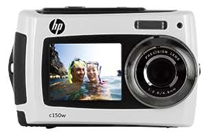 """HP C-150w Appareil photo numérique 8 Mpix étanche 3m écran 2,7"""" USB Blanc"""