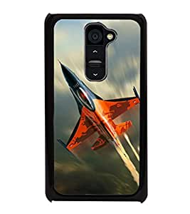 printtech Superfast Plane Jet Sky Back Case Cover for LG G2::LG G2 D800 D980