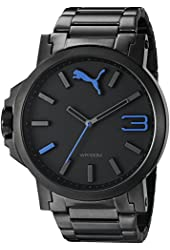 PUMA Men's PU102941001 Ultrasize Left-Handed Black Sport Watch
