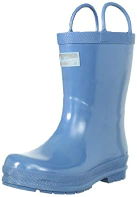 hatley Unisex-Child RainBoots RB0CBBL005 Blue 5 UK Child, 23 EU