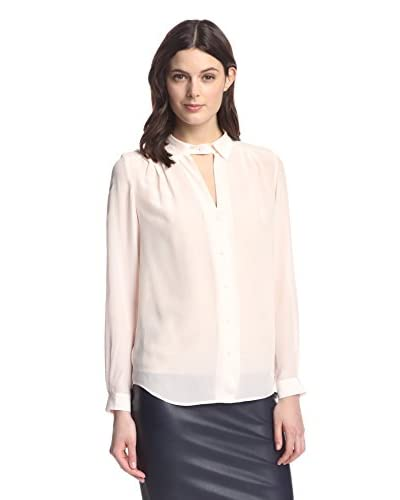 French Connection Women's Lustre Classic Silk Top