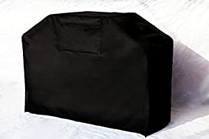 """Garden Home Barbeque Grill Cover, Padded Handles, Helpful Air Vents, 58"""" L, Black from Kanma Inc"""