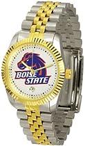 Boise State Broncos BSU NCAA Mens Steel Executive Watch