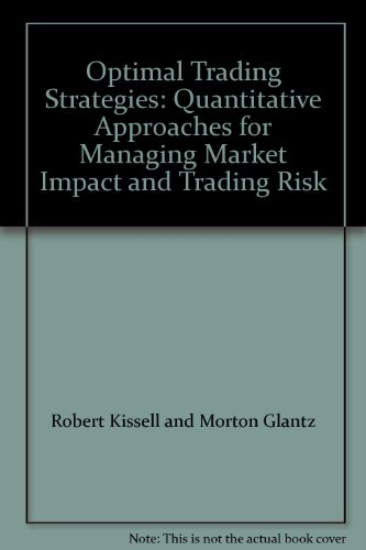 Kestner quantitative trading strategies pdf