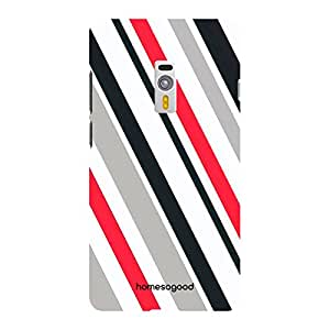 HomeSoGood Colored Radial Pattern 3D Mobile Case For OnePlus 2 (Back Cover)