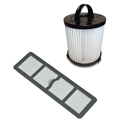 Best Vacuum Filter Brand Filter Bundle DCF21 & EF6 HEPA Exhaust Filter for EUREKA Vacuum 68931A, 69963 For Air Speed Vacuum AS1001A, AS1004A, AS1002A, AS1041A (Eureka Hepa Vacuum Filter Dcf21 compare prices)