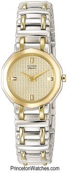 CITIZEN Watch:Citizen Elegance Signature Stainless / Gold Tone - Lady's Images