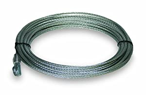 "Keeper KWA14520 100' x 21/64"" Wire Rope for KW9.5 Winch by Keeper"