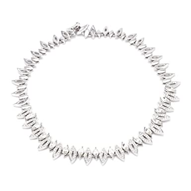 Marquise Cut Crystal Collar||RF10F