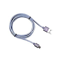Honeywell Braided USB to Micro USB Cable (Grey)