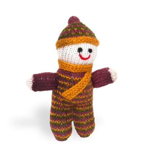 Sitara Collections® Hand-knitted Plush Small Pappu Doll - 1
