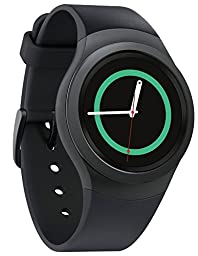 Samsung Gear S2 R730V (Verizon + Wi-Fi) Smartwatch - Dark Gray (Certified Refurbished)