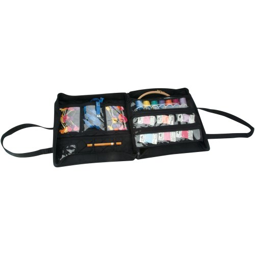 Best Review Of Yazzii Quilted Cotton Supreme Organizer, Black