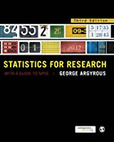 Statistics for Research: With a Guide to SPSS, 3rd Edition Front Cover