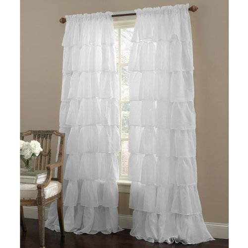 Linen Lorraine Home Fashions: Lorraine Home Fashions Gypsy Ruffled Window Curtain Panel