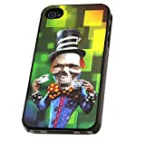 3D Changeable Magician Pattern Hard Phone Case for iPhone 4/4S