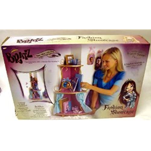 Bratz (  즈 ) Fashion Showcase Three Shelf Home decor Collection 피규어 장난감 인형 (병행수입)-