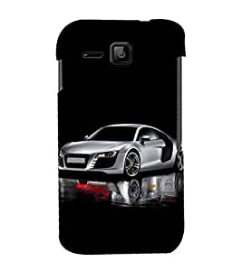 printtech Superfast Car Back Case Cover for Micromax Bolt S301