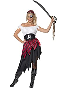 Pirate costume for women - M