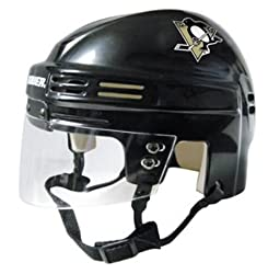Pittsburgh Penguins NHL Authentic Mini Hockey Helmet from BauerÊ