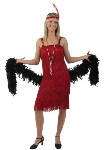 Miss Millie Red Flapper Costume