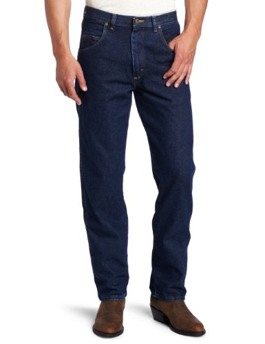 Wrangler Men'S Rugged Wear Relaxed Fit Jean, Antique Navy , 34X32