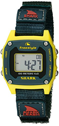 Freestyle Unisex 10022924 Shark Classic Mini Digital Display Japanese Quartz Black Watch (Shark Freestyle Watches compare prices)