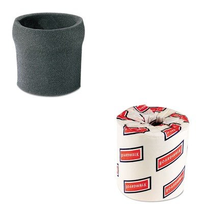 Kitbwk6180Sho9052600 - Value Kit - Shopvac Hang-Up Foam Sleeve (Sho9052600) And White 2-Ply Toilet Tissue, 4.5Quot; X 3Quot; Sheet Size (Bwk6180) front-442275