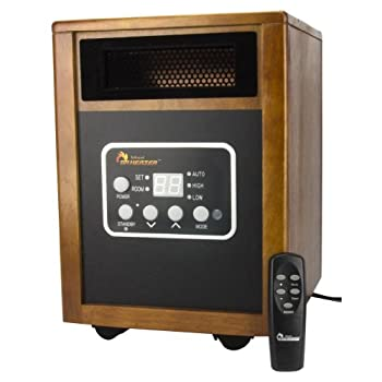 Dr968 Infrared HeaterView larger  Dr. Infrared Heater Dr968 Same Wattage, More Heat 255F@3.2m/s Vs 150F@2.4m/s Save Big On Your Heating Bills Dr. Infrared Heater, newly engineered and designed in the US, is one of the best alternative and most effi...