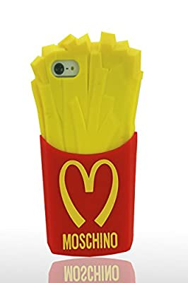 Huaxia Datacom New Fashion Chips Mcdonald 3D French Fries Silicone Protective Case for Apple iPhone 5 5S