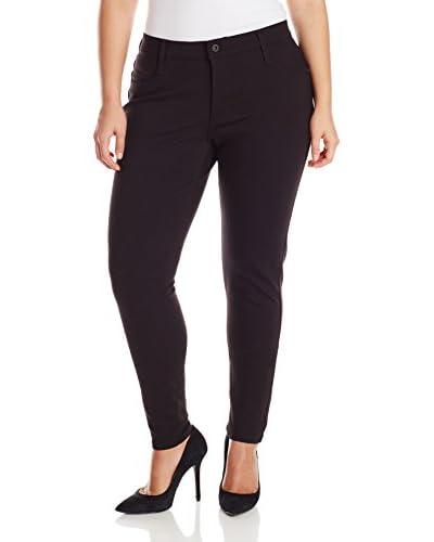 James Jeans Plus Women's Leggy Z 5-Pocket Cigarette Leg Jean