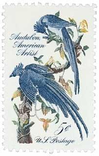 #1241 - 1963 5c John James Audubon U. S. Postage Stamp Plate Block (4)