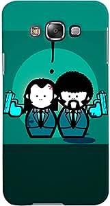 PRINTVISA Cartoon Gangster Couple Case Cover For Samsung Galaxy Grand 3