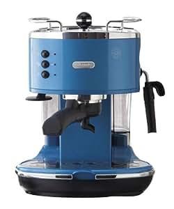 Delonghi Coffee Maker Blue : Amazon.com: DeLonghi ICONA espresso / cappuccino maker (Azzurro blue) ECO310B: Espresso Machines ...
