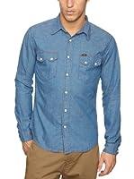 Lee Camisa Manatee (Azul)