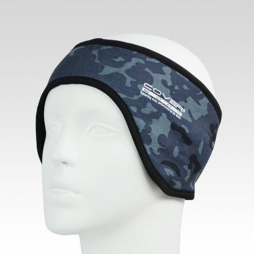 布施商店 保湿性・通気性抜群 パワーイヤーウォーマー ヒートイヤー FT-551 カモフラグレー