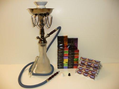 Premium 1 Hose Hookah Nargila Pipe + 5 Boxes