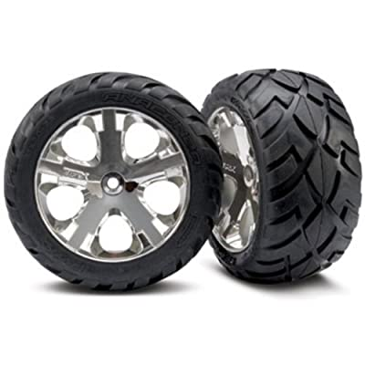 Traxxas 3773 All Star Wheels and Anaconda Tires for Electric Rear
