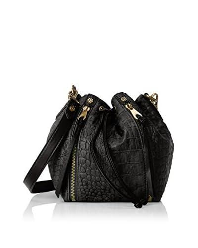 Joelle Hawkens Women's Dakota Drawstring Bag, Black