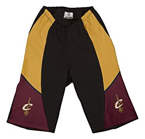 NBA Cleveland Cavaliers Ladies Cycling Shorts, Large by VOmax