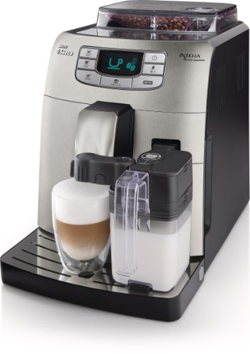 Best Price! SAECO HD8753/87 Philips Intellia Cappuccino Fully Automatic Espresso Machine