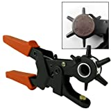 "9-1/2"" Heavy Duty Leather Hole Punch Hand Pliers Belt Holes Punches 2.0mm to 4.5mm Leather Bands/Belts"