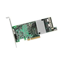 LSI MegaRAID SAS 9271-8I 8-port 6Gb/s SATA+SAS PCI-Express 3.0 Low Profile RAID Controller Card, Single