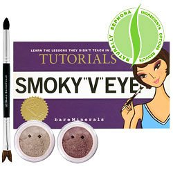 "Tutorials: Smoky ""V"" Eye from Bare Escentuals"